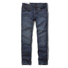 74716ca39b2 boys a f slim straight fleece-lined jeans