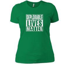 Deplorable lives matter