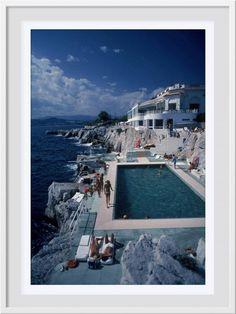 Slim Aarons Hotel du Cap Eden-Roc Framed
