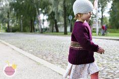 Paksu villapaita lapselle ilmainen ohje / knitted sweater free pattern (in finnish)
