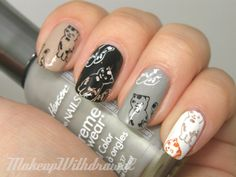 Makeup Withdrawal: Born Pretty Review: Stamping Supplies - KITTIES!!!