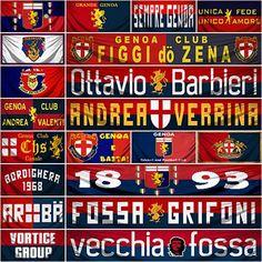 Clubs Genoa Football, Genoa Cfc, Forever, Club, Fifa, Cricket, Sports, Art, Italy