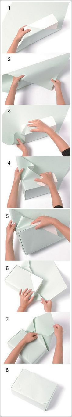 How to wrap gifts