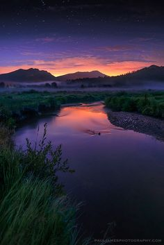 Colors of the Night by Paul James Moraine Park, Estes Park, Colorado