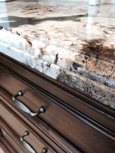 @intertile   Stunning granite counter.