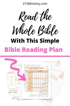 Everything you need is included with this simple Bible reading plan called Small Chunks. It comes with the reading plan, bookmarks, prayer cards, and journal pages all delivered to your email Inbox, 1 volume at a time. Find out more here about this exciting new Bible Reading Plan! #biblereadingplan #biblereading #readtheWord #readtheBible