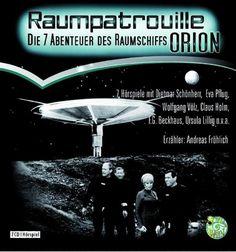 Raumpatrouille Orion  FANTASY UND SCIENCE-FICTION  Gelesen von Dietmar Schönherr, Eva Pflug, Wolfgang Völz  Informationen: Hörspiel, 490 Minuten, 7 CDs, 24.95 €  Verlag: Schall & Wahn