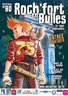 Rochefort en bulles, festival de BD, entrée gratuite. Du 31 août au 1er septembre 2013 à Rochefort.