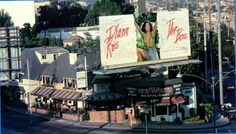 Old World Restaurant On The Sunset Strip In 1979 Holloway Dr Horn St