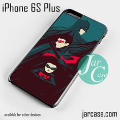 Batman & Robins Phone case for iPhone 6S Plus and other iPhone devices