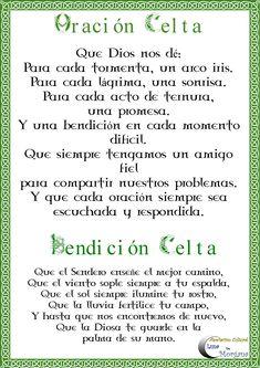 oración celta