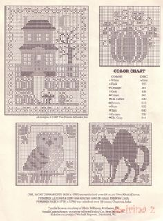 Trick or Treat • 2/3 Charts for Projects – Designer Series by Clematis