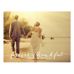 Wedding Photos Forever Thankful Photo Wedding Thank You Postcard - Fun and whimsical wedding thank you postcard. Similar items are available in my store. Wedding Thank You Postcards, Wedding Postcard, Vintage Wedding Invitations, Card Wedding, Wedding Stationary, Wedding Vows, Destination Wedding, Wedding Dresses, Whimsical Wedding
