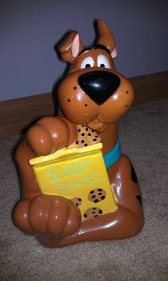 Scooby-Doo Cookie Jar by Zak Designs Teapot Cookies, Biscuit Cookies, Glass Cookie Jars, Disney Cookies, Vintage Cookies, Cute Cookies, Ceramic Decor, Biscuits, Scooby Doo