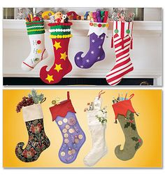 McCalls Sewing Pattern 2991, Christmas Stockings, Holiday Pattern stockings on Etsy, $4.00