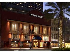 Enjoy a three day/ two night stay in a deluxe room at the JW Marriott New Orleans, right in the heart of the Big Easy!Old-world charm and modern luxury blend seamlessly at JW Marriott New Orleans. Situated in the heart of the historic French Quar...