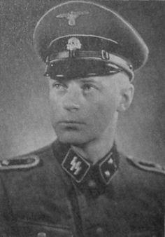 Erling Hallas - Danish volunteer and member of DNSAP, executed in 1947 for his activity in the Schalburg Korps