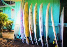 #surfboards Art Print #wallart #homedecor #Hawaii
