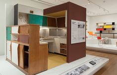Kitchen by Charlotte Perriand with Le Corbusier (1952)