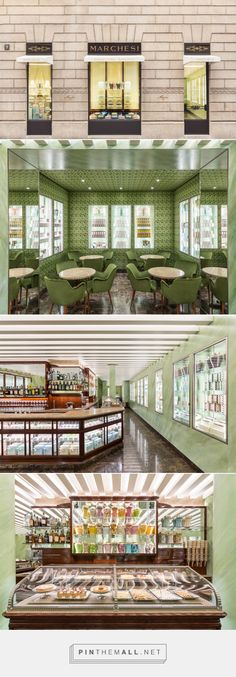 Pasticceria Marchesi Opens in Via Monte Napoleone, Milan — urdesignmag... - a grouped images picture - Pin Them All