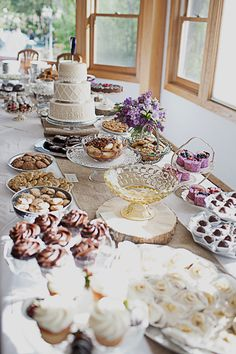 Beautiful Spring Wedding food decor