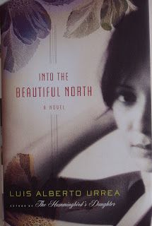 Books and Quilts: Into the Beautiful North by Luis Alberto Urrea