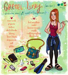 Meet the artist by Gretlusky