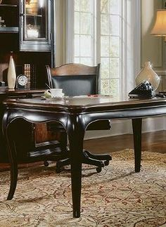 Handsome and richly finished, the Renee Writing Desk is the perfect place to sit and accomplish your most important tasks.