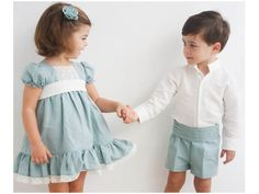 16 (18) Outfits Niños, Twin Outfits, Toddler Boy Outfits, Matching Family Outfits, Kids Outfits, Baby Summer Dresses, Baby Dress, Baby Wearing, Kids Wear