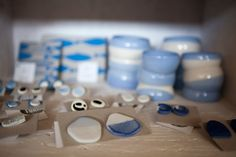 #ceramic beauties in Shop of Form at Remade Market 27 October 2013. Lodz Design Festival 2013