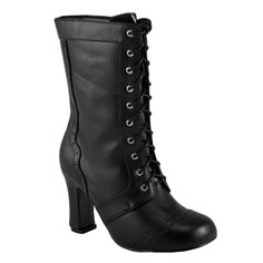 Cute, not too expensive, and looks actually wearable!  Victorian Steampunk Granny Boot