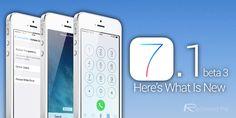 iOS 71 beta 3 changes header