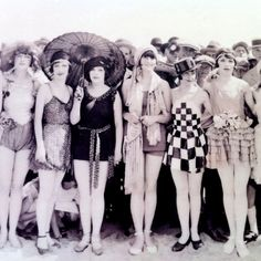 second from the right....Bathing beauties