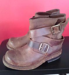 Jeffrey Campbell Rouges Wrap Strap Short Brit Ankle Boots 6 #JeffreyCampbell…