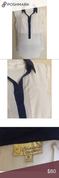 Vera Wang Short Sleeve Shirt M Vera Wang Tops