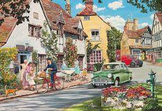 The Postman's Round - Trevor Mitchell