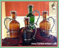 "Growlers. www.LiquorList.com ""The Marketplace for Adults with Taste!"" @LiquorListcom   #LiquorList.com"