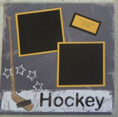 Ice Hockey page 16 - Scrapbook.com