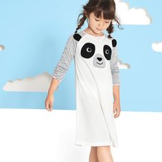 The gown just makes bedtime easy. #lovecarters #panda