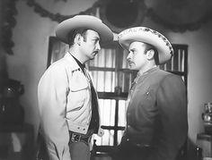 Jorge Negrete y Pedro Infante