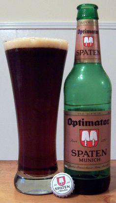 Spaten Optimator - awesome German beer