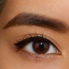 Using Veluxe Brow Pencil in Brunette, stipple in and feather colour, combing over thoroughly. With your favourite shade of Brow Duo, use a 266 Brush to detail edges and end of brows. #MACBrowsAreIt!
