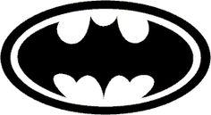 Obrázková samolepka Batman-znak