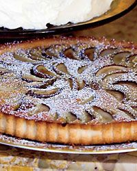 Poached Pear and Brown Butter Tart // More Pies & Tarts: http://www.foodandwine.com/slideshows/pies-and-tarts #foodandwine