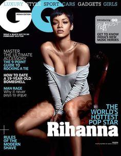 Rihanna - GQ Magazine Cover [India] (February 2013)