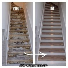 Mississippi Pine: houten trapbekleding met een ruwe & robuuste uitstraling « Mutter ADS Best Picture For house Stairs For Your Taste You are looking for something, and it is going to tell you exactly Glass Stairs, Wooden Stairs, Wood Floor Stairs, Basement Stairs, House Stairs, Entryway Stairs, Stair Renovation, Stairway Lighting, Staircase Makeover