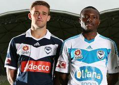 Melbourne Victory adidas Home and Away Kits Adidas Kit, Football Fashion, League News, Sports Brands, Global Design, Home And Away, Victorious, Melbourne, Soccer