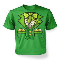 Leprechaun Costume kids t-shirt