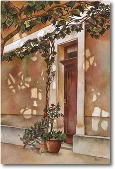 Pomm Fine Art | Watercolor Painting and Oil Paintings Index | Alphabetical List of Art Work