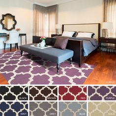 @Overstock - Artistic Weavers Hand-tufted Urope Moroccan Trellis Wool Area Rug (3' x 5') - Add bold style to your decor with this Moroccan trellis patterned rug. Hand-tufted with wool, this rug will accent any space with its bold colors and trendy design. It is the perfect choice to add the finishing touch to any room in the house.  http://www.overstock.com/Home-Garden/Artistic-Weavers-Hand-tufted-Urope-Moroccan-Trellis-Wool-Area-Rug-3-x-5/9207890/product.html?CID=214117 PLN              ...